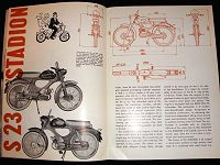 Mopedy Stadion S22 a S 23, Motor Review, 1962